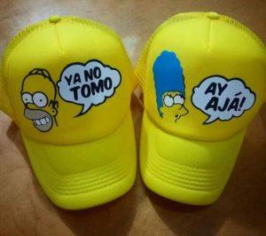 Cachuchas para parejas personalizadas en Bogotá edcfcb11e5a